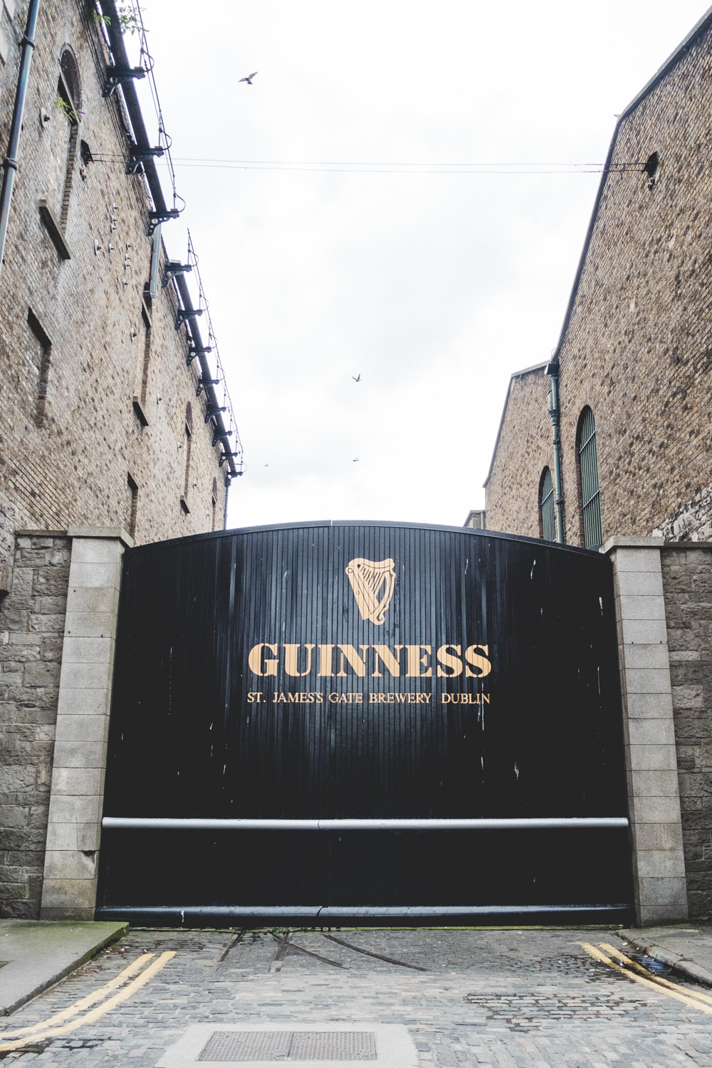 Guinness Storehouse in Dublin, Ireland.
