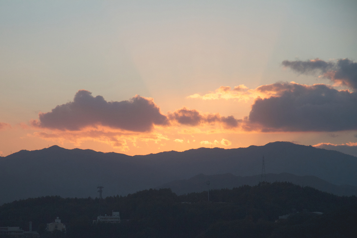 Sunset in Japan -Photography: Yolene Dabreteau