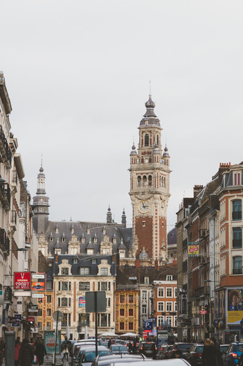 Beffroi in Lille, France