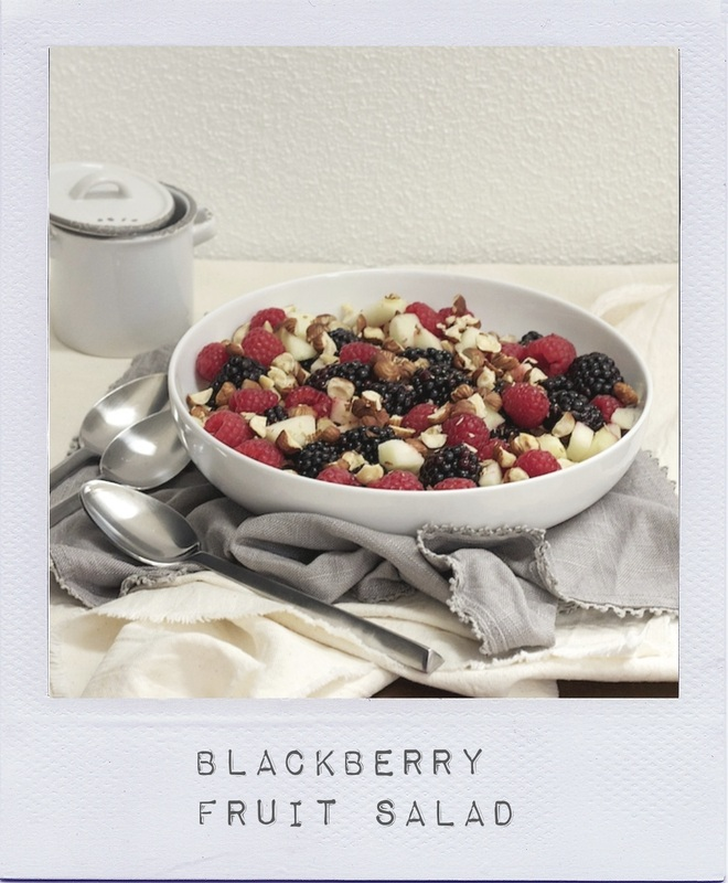 Blackberry Fruit Salad Recipe - On Crème de Citron
