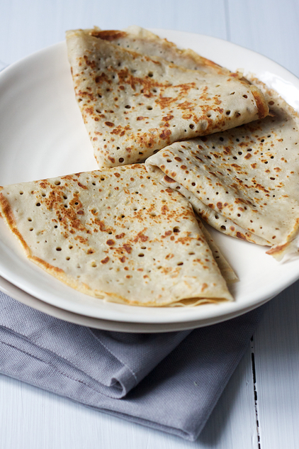 Buckwheat Crepes - On cremedecitron.com