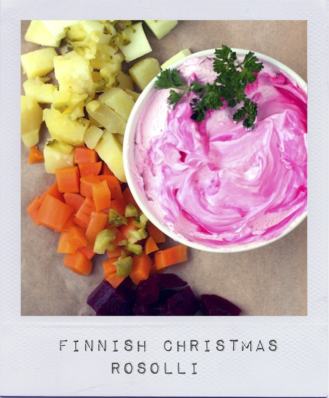 Finish Christmas Rosolli