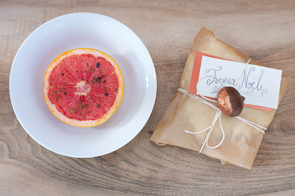Grilled Grapefruit with Juniper Berries and Honey Recipe