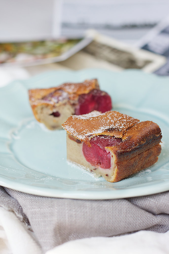 Cherry and Chocolate Clafoutis Recipe