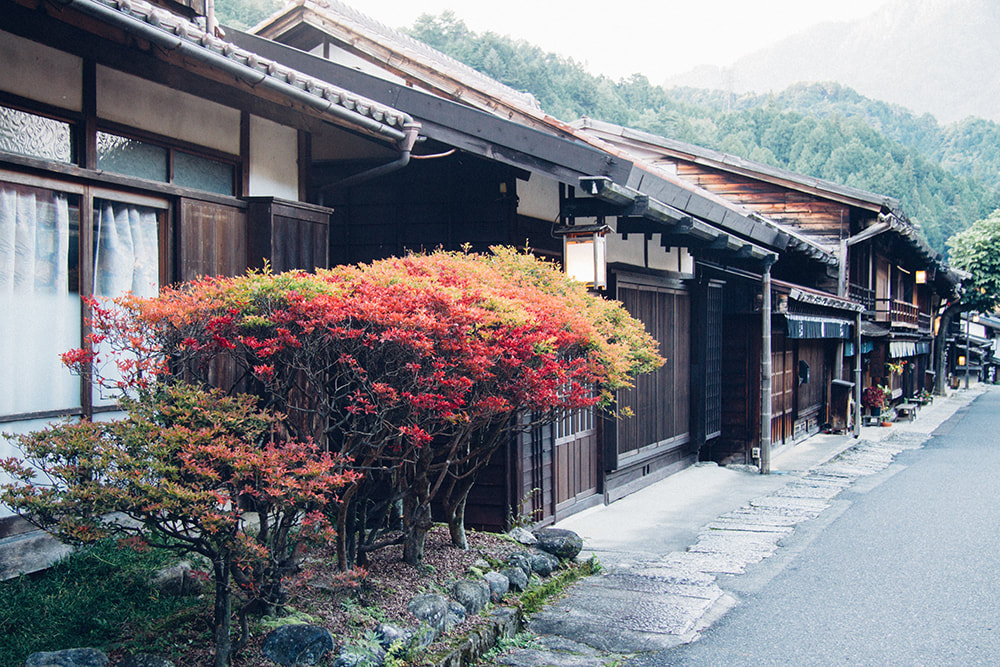Japan Travel Guide - Tsumago in Autumn