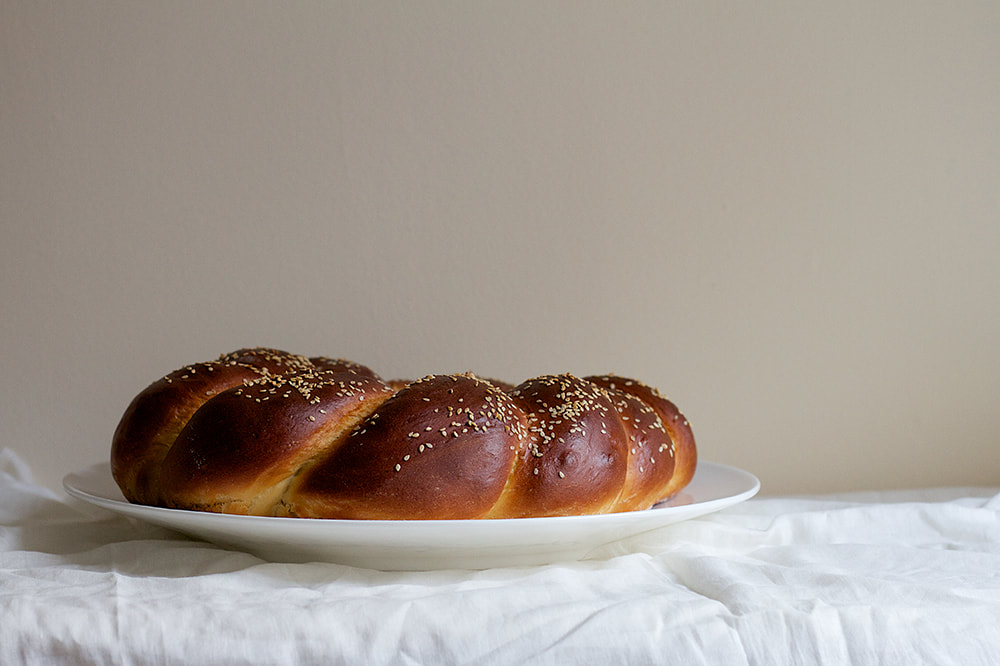 Spiced Pear and Chocolate Challah Bread Recipe