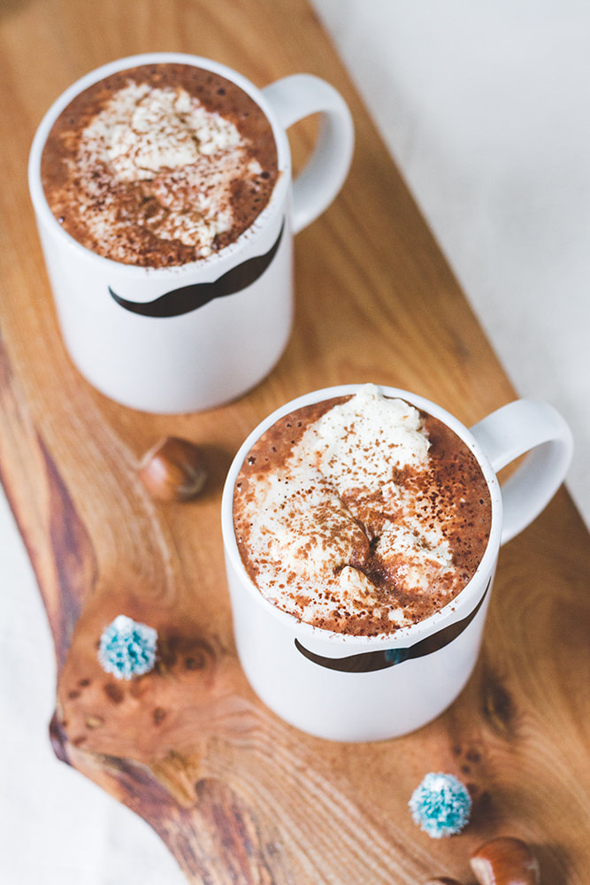Cognac and Hazelnut Hot Chocolate Recipe