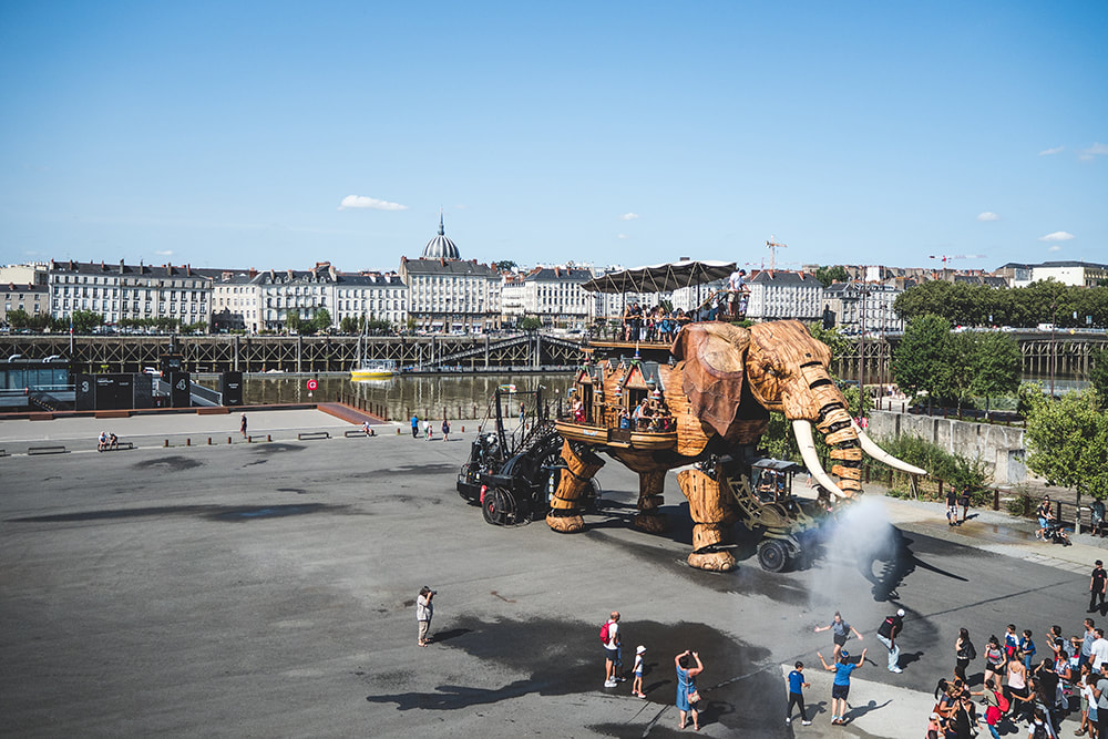 Nantes City Guide - Machines de l'Ile