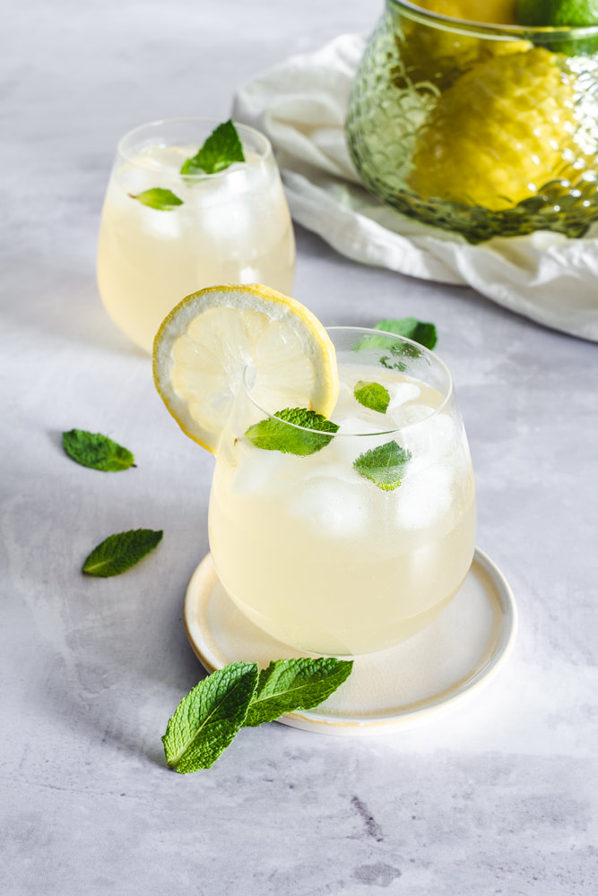 Lemon, Lime and Mint Soft Drink Recipe