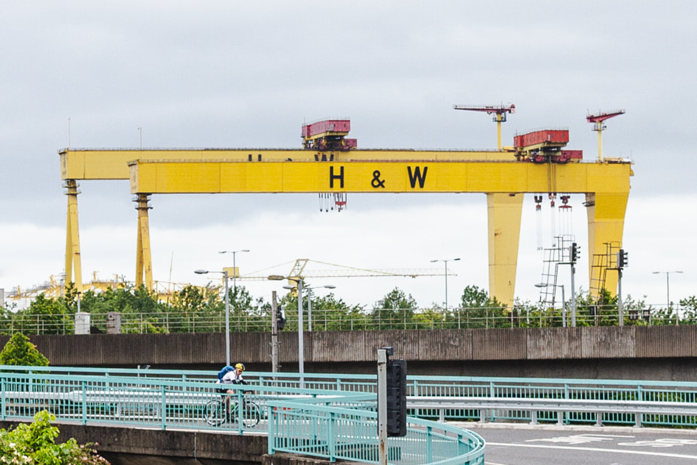 Belfast City Guide - Samson and Goliath Cranes