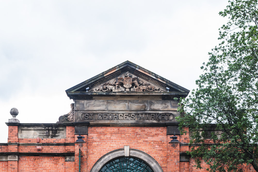 Belfast City Guide - Saint George's Market