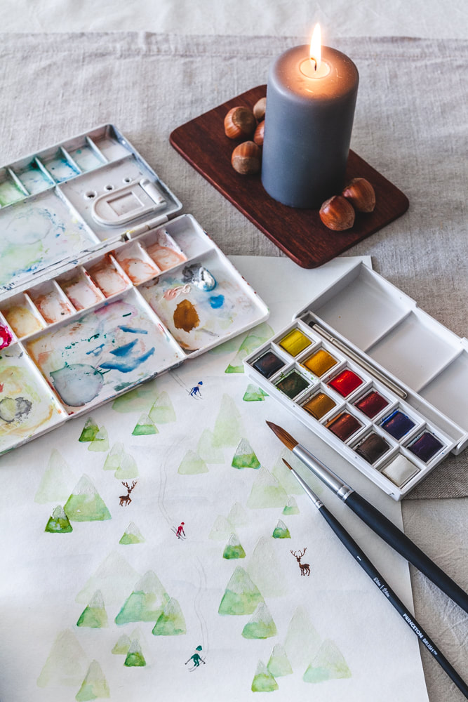 Watercolour Painting Goal 2019