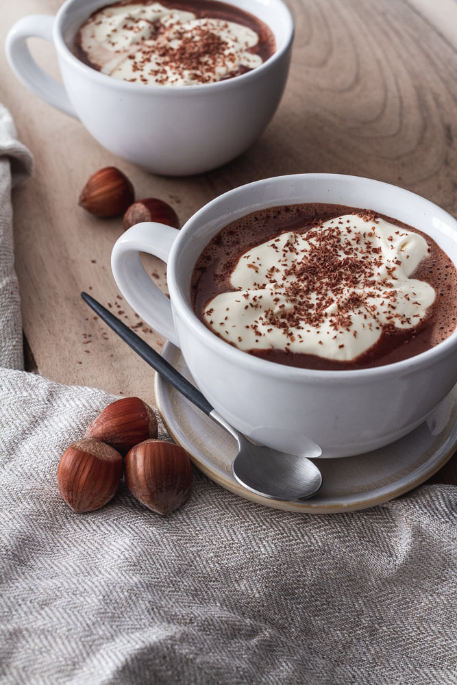 Hazelnut Praline Hot Chocolate Recipe