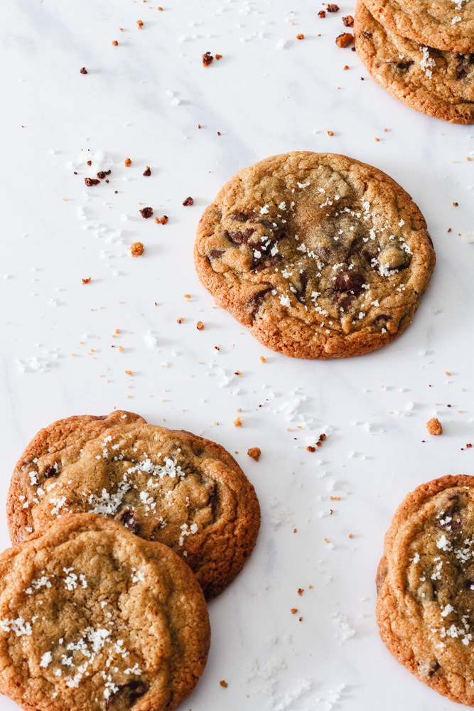 Chocolate Chips Cookies with Fleur de Sel Recipe