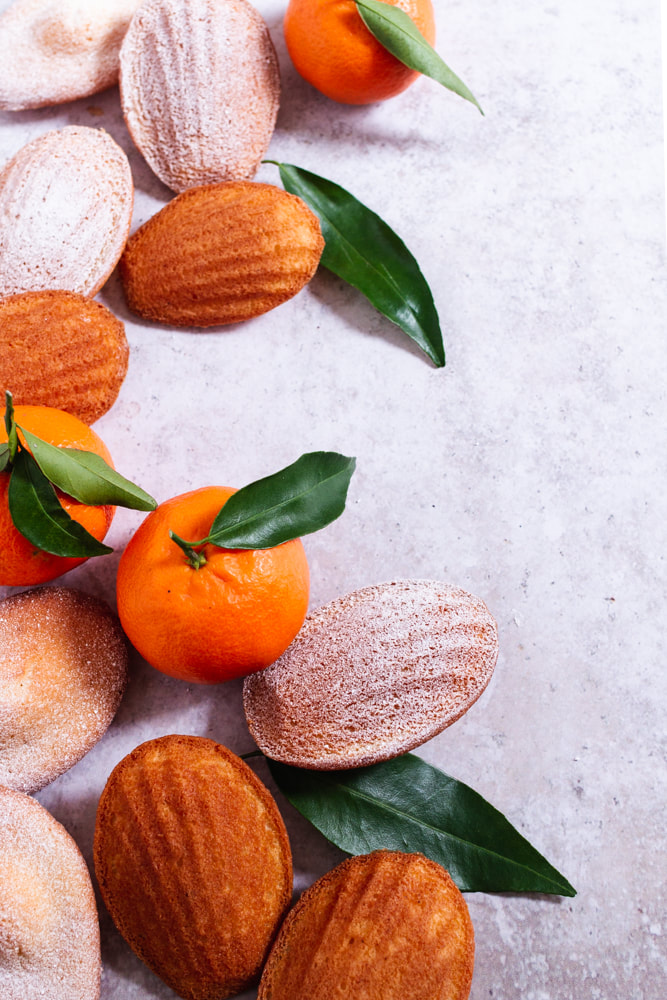Clementine and Tonka Madeleines Recipe