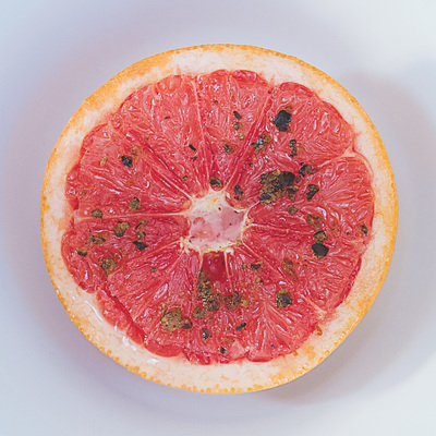 Grilled grapefruit recipe for breakfast