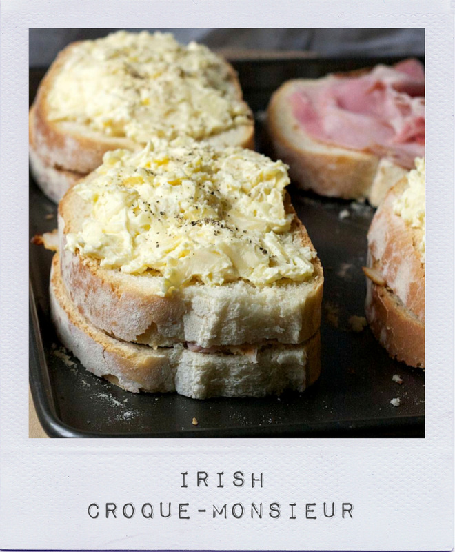 Irish croque-monsieur - On cremedecitron.com