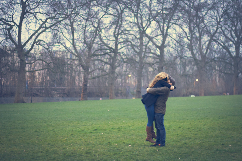 Australian Couple Engagement Photos in London