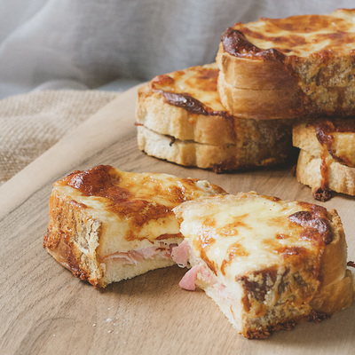 Irish croque-monsieur recipe