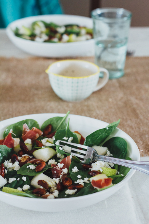 Pear and Serrano Ham Salad Recipe