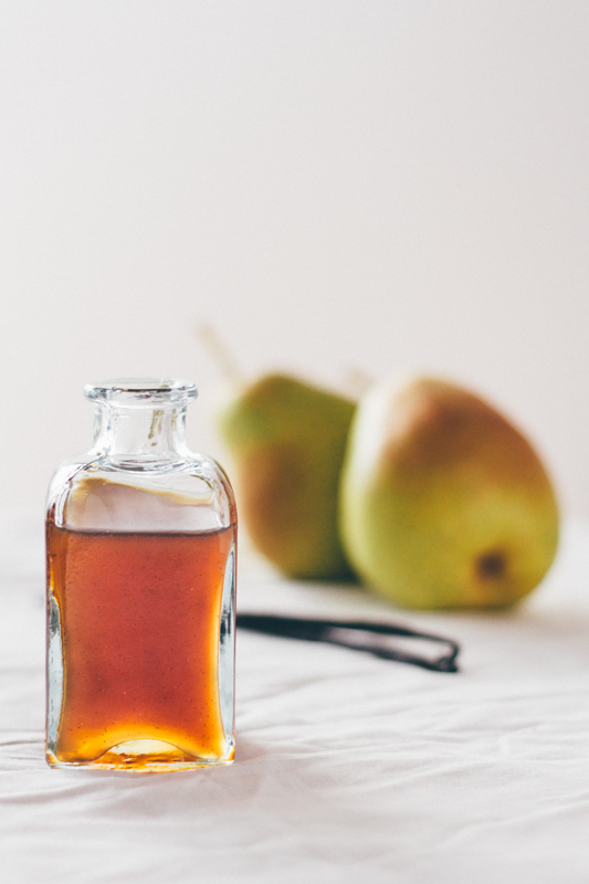Pear and Vanilla Syrup