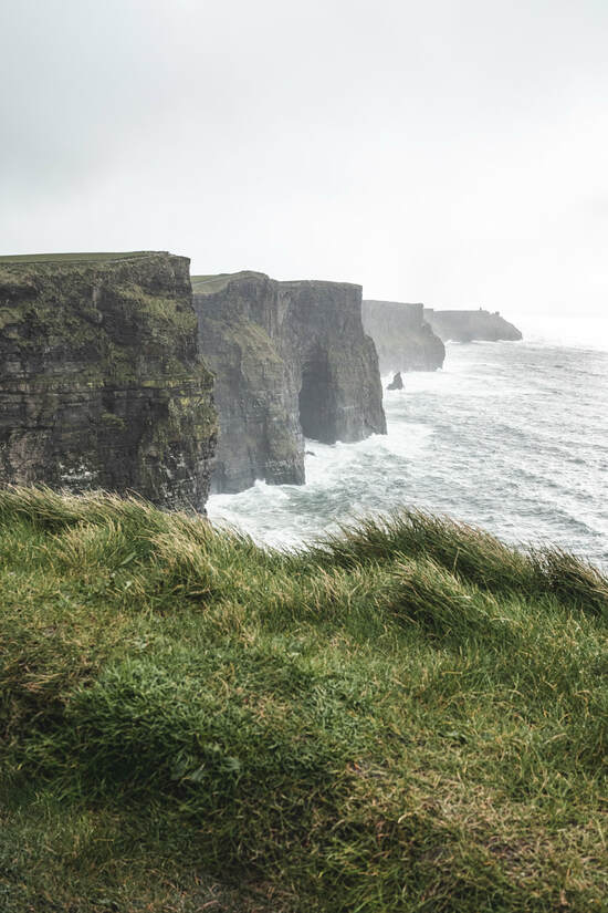 Visiting Ireland - The Cliffs of Moher